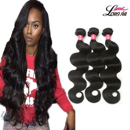 Wholesale 22 Inch Virgin Remy Hair - Grade 8A Brazilian Body Wave 3 or 4 Bundles Deals Unprocessed Brazilian Virgin Human Hair Extension Peruvian Virgin Remy Hair Body Wave