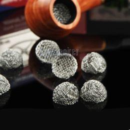2019 humo de pantallas de plata Silver Pipe screens Tobacco click n vape Smoking Pipe Filtro de malla de malla de alambre Pipe Net Tallas múltiples 13/14/15/16/17/18/19 / 20mm rebajas humo de pantallas de plata