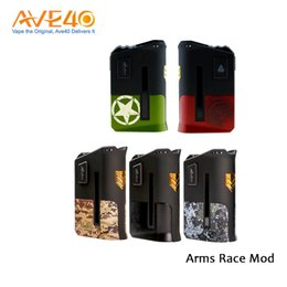 Wholesale Wholesale Metal Works - Limitless Arms Race Box Mod Arms Race 200w Mod Work with Dual 18650 VS Wismec RX200s Limitless 200w Ijoy 215w