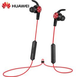 Huawei auriculares originales online-Huawei AM61 xSport Auriculares Auriculares Bluetooth IPX5 Impermeable BT4.1 Música Mic Control Auriculares Inalámbricos Original Envío Gratis