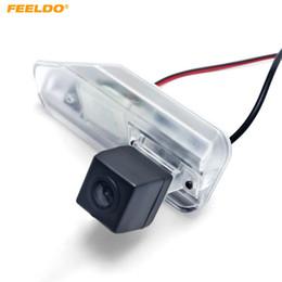 lexus levou luzes Desconto FEELDO Auto Backup Câmera de Visão Traseira Do Carro Com Luz LED Para Lexus ES240 / ES350 Câmera Reversa # 4803