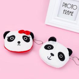 1 Stücke NEUE Nette Panda Form Plüsch Geldbörse Unisex Geldbörsen Reißverschluss Münze Taschen Ändern Beutel für Kinder Kinder Geschenk von Fabrikanten