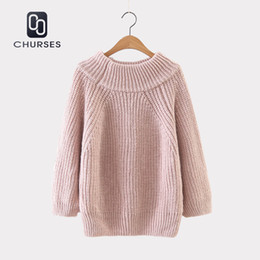 b9a8089fa30 Autumn 2018 Thick Needle Pullover Knitted Sweater Women Winter Sweater  Pullover Female Winter Knit Jumper Pull Femme Sweater Y18101602