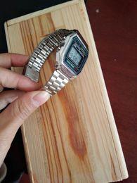 Fascia da braccio digitale Stahl originale GASIO RETRO CLASSIC unisex-A158WA-1 12223 YES da