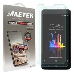 Wholesale zte avid - Tempered Glass Screen Protectors Explosion Proof Protective Film Guard for ZTE Blade Z Max Overture 3 Blade X Max AVID 4 Packging Aicoo
