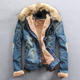 sale retailer 11e68 ba7d2 Rabatt Männer Jeansjacke Winter   2019 Männer Jeansjacke ...
