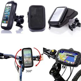 iphone plus support Coupons - Motorcycle Bicycle Phone Holder For iPhone 7 6 6s Plus Xiaomi Huawei Support Mobile Phone Stand With Waterproof Case Bag Shell