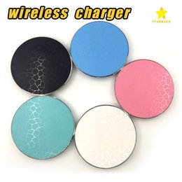 Wholesale Iphone Retail Packaging - Q13 Qi Wireless Charger Transmitter for iPhone 7 8 Plus Samsung Galaxy S7 S8 with Retail Package