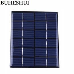 Panel solar policristalino 6v online-Módulo solar 5pcs / lot del sistema solar de Polycrystalline de la célula del panel solar 2w 6v envío libre