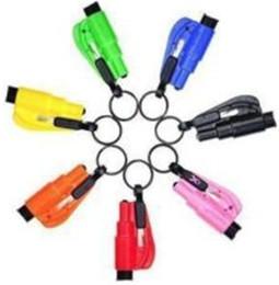 Wholesale auto life - Mini Safety Hammer Auto Car Window Glass Breaker Seat Belt Cutter Rescue Hammer Car Life-saving Escape Tool