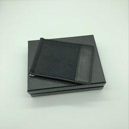Neue Männer Luxus MB Leder Visitenkartenetui Brieftasche Clip Schwarz Kurze Kreditkarteninhaber Tasche M T Hohe Qualität Brieftasche von Fabrikanten