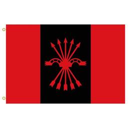 Vôo espanhol on-line-Falange espanhola das Assembléias da Bandeira Nacional Sindicalista Ofensiva bandeiras Bandeira vôo ao ar livre bandeira