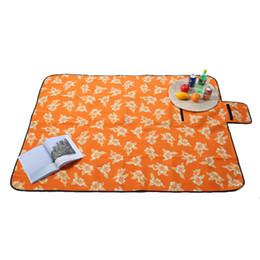 tapete de jogo de tecido para crianças Desconto Dobrável Esteira de Acampamento ao ar livre Piquenique Mat Pad Cobertor Cobertor Cobertor Cobertor Da Praia Do Bebê À Prova D 'Água Almofada de Tenda