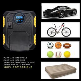 12 в электрический автомобиль шин Инфлятор насос цифровой портативный шин воздушный компрессор насос для баскетбола футбол многофункциональный со светодиодным фонариком от Поставщики пластиковые колеса резиновые