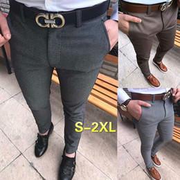Wholesale Mens Casual Business Jeans - Newest Men's Fashion Slim Fit Jeans Pants Male Casual Long Trousers Leisure Pants Mens Business Pants Autumn Winter Spring