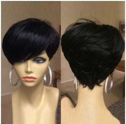 Kadın peruk setleri, Avrupa ve Amerikan Kimya lif kısa eğik patlama peruk başlık fabrika doğrudan satış dokulu nereden