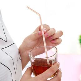 Preço de palha de plástico on-line-21 cm Alongado Descartável Canudo Tubo De Plástico Flexível para Wtaer Copo de Bebida Por Atacado Preço de Fábrica