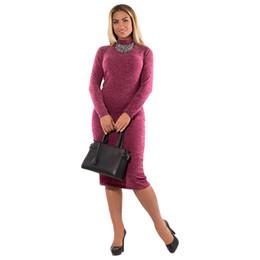 91db0bfa5c6 2018 Spring Autumn Dress Turtleneck Casual Long Sleeve Women Dress Bodycon  Bandage Dress Plus Size Women Clothing Vestidos 6XL