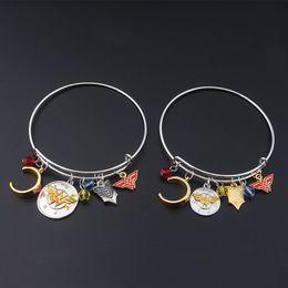 Wholesale Celtic Crystal Headband - New Wonder Woman Bracelets Bangle Cuff Wristbans Adjustable with Wonder Woman Badge headband Charms Fashion Jewelry for Women Gift 320010