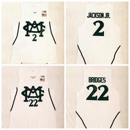 New Style 2018 Men 22 Miles Bridges Jersey Michigan State Spartans College  Basketball 2 Jaren Jackson Jr Jerseys University Stitched White e8cd76593