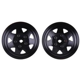 Wholesale rc crawler parts - 4pcs Lot 1.9inch RC Crawler Car Metal Wheel Rims for D90 SCX10 RC4WD RCRUN Wheel Hub Parts Toys Accessories
