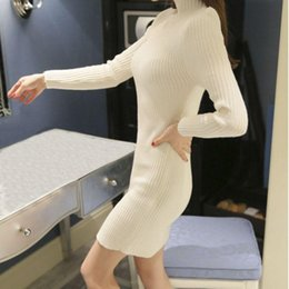 2b615b5c8d Wholesale- New Spring Fashion Women Sweater High Elastic Solid Turtleneck  Sweater Women Slim Sexy Tight Bottoming Knitted Pullovers