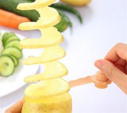 découpage de légumes de fruits de cuisine Promotion 2018 Cuisine Accessoires Salade Fleur Trancheuse De Fruits Légumes Trancheuse De Légumes, concombre raboteuse, spirale motif sculpture DHL Livraison gratuite