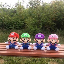 Canada 20 cm Super Mario Figure Peluche Peluche Jouet Super Mario Bors Figure Mario Luigi Figurine Peluche jouets pour garçon fille Jeu oyuncak cheap video games for girls Offre