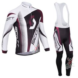 Men cycling jersey SCOTT Long Sleeve Spring Autumn MTB bike clothing ropa  ciclismo Tour de France racing Bicycle clothes 100502Y 912ea270b