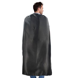 COULEUR PLAINE 70 * 140cm costume de satin unique Halloween Cosplay Capes adultes Personnaliser Team Building promotionnel ? partir de fabricateur