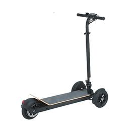 Колесный самобалансирующийся электрический скутер онлайн-Daibot Electric Scooters Взрослые 3 колеса ES Board Самобалансирующиеся скутеры 450W Бесщеточный мотор Дети Складной электрический скейтборд