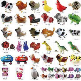 Ассортимент дизайн прогулки Pet воздушный шар гибридные модели животных воздушные шары детские игрушки на День рождения подарок щенок globos от Поставщики различные виды