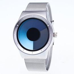 Wholesale Concepts Fashion - MINHIN Personality No Pointer Watch Concept Swirl Design Luminous Student Fashion Watch Women Men Creative Wristwatches