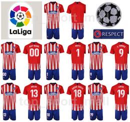 Youth GELSON Jersey Kids Atletico Madrid 18 19 Soccer La Liga Red DIEGO  COSTA TORRES OBLAK ADAN Football Shirt Kits Uniform Children 2b8fdb2ad
