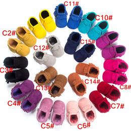 meias de borracha de borracha atacado Desconto BX163 venda Quente !! atacado de alta qualidade bebê mocassins crianças moccs bebê sapatos sandálias franja sapatos quentes moccs.