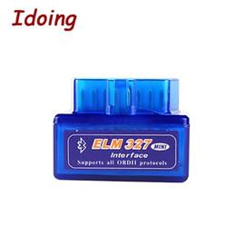 2019 obd ii scanner bluetooth IDoing ELM 327 V1.5 Veículo Bluetooth Ferramenta de Diagnóstico OBD2 OBD-II ELM327 Interface de Carro Scanner de Trabalhos Para Android GPS desconto obd ii scanner bluetooth