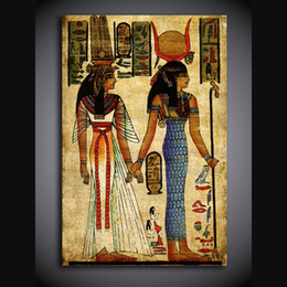 Wholesale Egypt Canvas - 1 piece canvas art canvas painting Egypt artwork poster HD printed wall art home decor picture for living room XA1728C