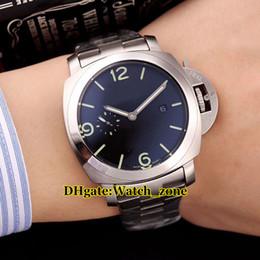 Argentina Alta calidad 44mm 328 1950 Movimiento automático Caja de plata Reloj para hombre Pulsera de acero inoxidable Baratos Nuevos caballeros Relojes Suministro