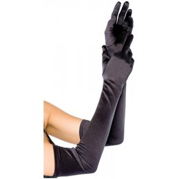 Wholesale Long Satin Opera Gloves - Long SatIn OPera Gloves For dress up, cosplay, pHoto props