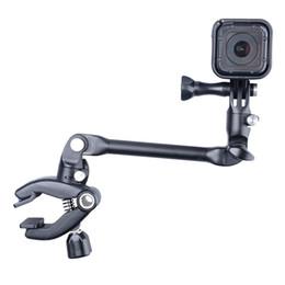 Canada Clips de batterie pour guitare 360 Rotation Music Mount Arm Pince pour Gopro SJCAM Xiaomi Yi Action Camera supplier arm mount for gopro Offre