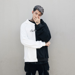 hip hop kleidung usa Rabatt Männliches Patchwork-Mehrfarben-USA-Mann-Kapuzenpulli-Sweatshirts-Lächeln-Druck Headwear Hoodie-Hip Hop Streetwear, der uns Größe S-XL kleidet Heißer Verkauf