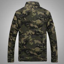 b5aec3a08fd Directo de fábrica de Amazon AliExpress American casual camuflaje de  impresión chaqueta de herramientas hombres uniforme militar chaqueta