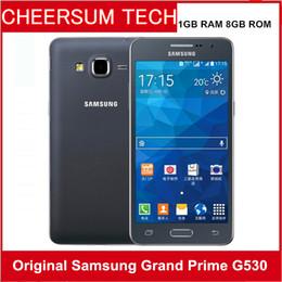 Argentina Original Samsung Galaxy Grand Prime G530H G530A Ouad Core Dual Sim desbloqueado teléfono celular pantalla táctil de 5.0 pulgadas restaurado teléfono celular Suministro