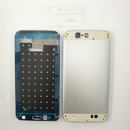 Wholesale Full House Complete - For Huawei Ascend G7 Original Complete Full Housing LCD Front Frame+Back Battery Cover+Top Bottom Cover Replacement Parts