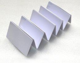 бесконтактные замки Скидка 100 шт. / Лот Струйная для печати пустая карта ПВХ для принтера Epson, для принтера Canon