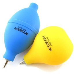 Wholesale Air Blowers - Brand New blue Yellow Air Blower Camera Lens Watch Laptop Cleaner Cleaning Blowing Dust Removal Tool