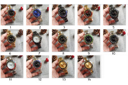 reloj de buceo gmt Rebajas Nuevo Lujo New Gent's GMT II 2 relojes de cuarzo Self Wind Acero Inoxidable Divertido Blanco Negro Silver Master 44mm Reloj para hombre