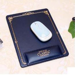 Mouse de ponta on-line-O Mais Recente High-end Mouse Pad Cuidados Com As Mãos Cuidados Com o Computador Criativo Wrist Mouse Pad Escritório de Negócios De Couro Livre grátis