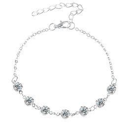 tobilleras de acero Rebajas Moda Vintage perlas de cristal de imitación de la perla para las mujeres de acero inoxidable zapato cadena pulsera pie joyería 2017 verano Sexy playa Jewely
