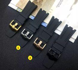 2019 поясной силиконовый мужской 28 мм черный природа резиновый силиконовый ремешок для часов Мужчины смотреть Band для AP ремешок для Audemars Piguet пояса оффшорный дуб логотип на дешево поясной силиконовый мужской